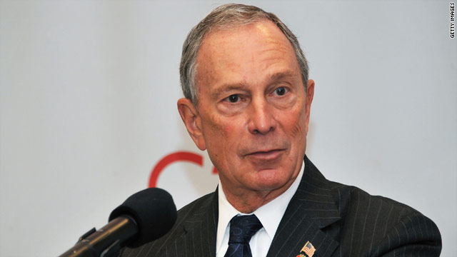 Bloomberg says Wall Street protesters trying to destroy jobs