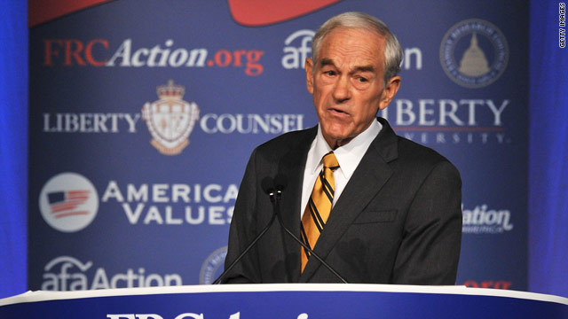 Ron Paul wins Values Voter straw poll