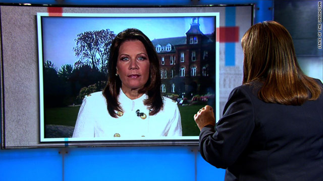 Bachmann disputes poll numbers, says campaign still strong