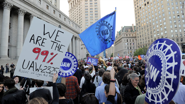 Some Democrats praise, Republicans slam 'Occupy Wall Street'
