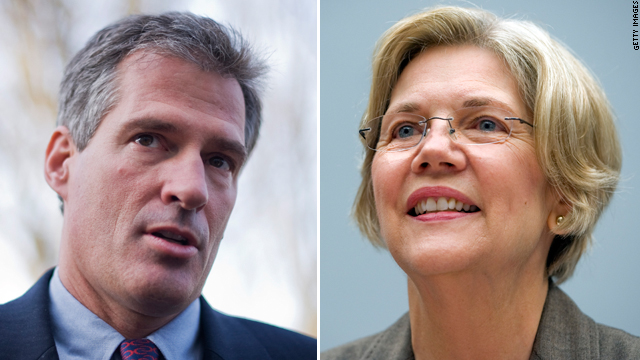 Brown-Warren race remains tied, poll shows