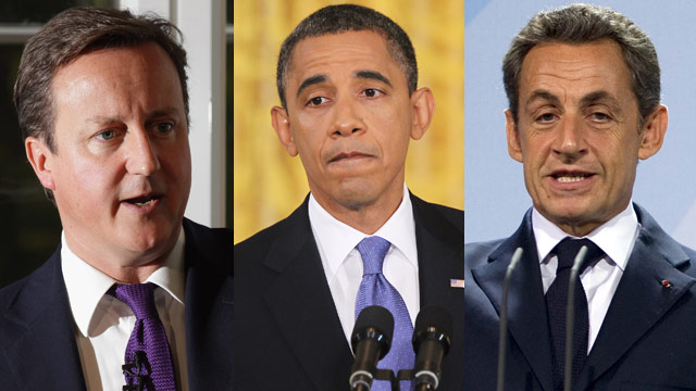 Obama phones Cameron, Sarkozy on Eurozone