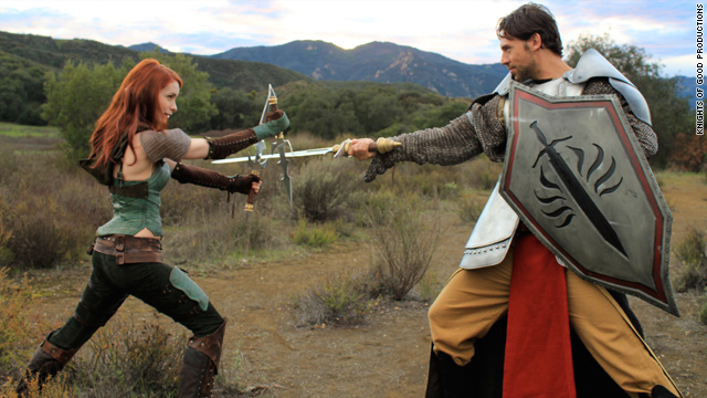 Can Felicia Day strike gold twice with 'Dragon Age: Redemption'?