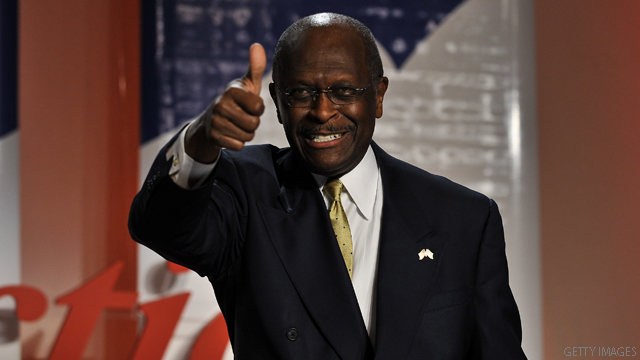 Cain wins big in South Carolina tea party straw poll