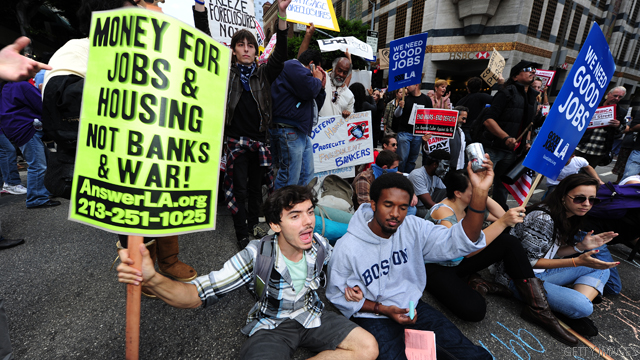 Poll: Half the country has heard about the Occupy Wall Street protests