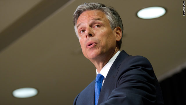 Huntsman doesn't rule out giving campaign more money
