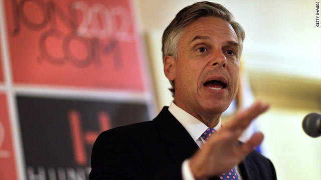 Huntsman: Pastor is a 'moron'