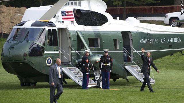 Obama's Walter Reed visit