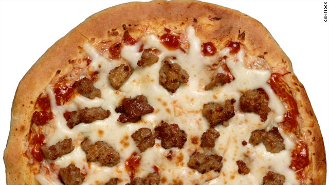 Breakfast buffet: National sausage pizza day
