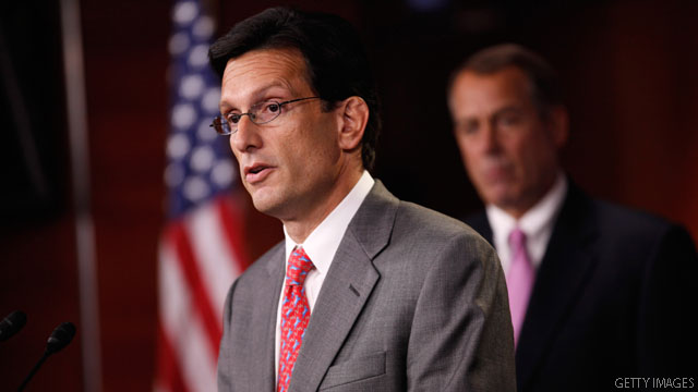 Cantor shifts tone on Occupy Wall Street protestors
