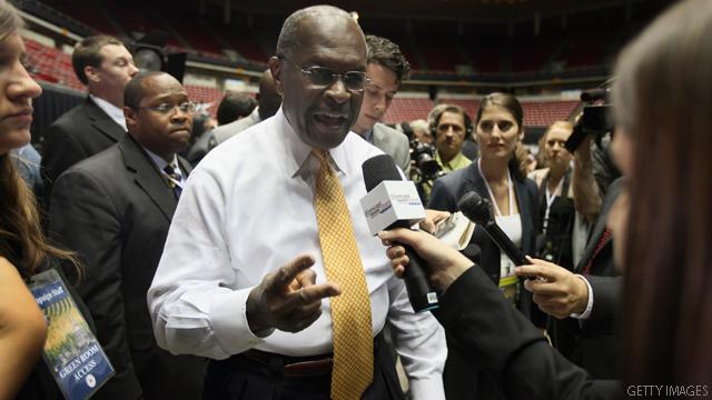 Vice President Herman Cain?