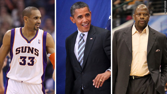 Top names from NBA to help Obama raise campaign cash – CNN Political ...