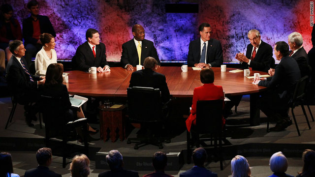 GOP rivals look to deep-six Cain&#039;s 9-9-9 plan in debate