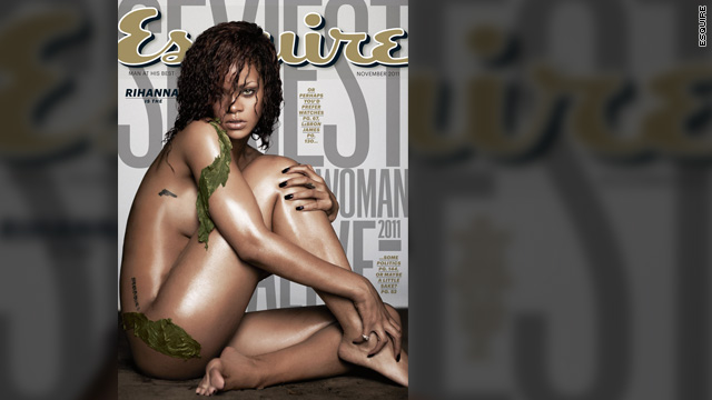 Esquire dubs Rihanna 'Sexiest Woman Alive'