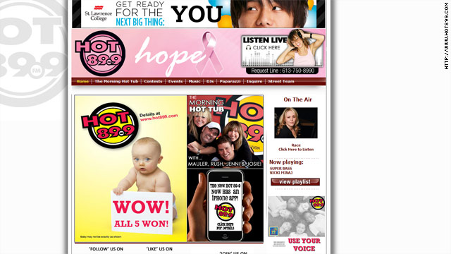 Critics call radio station's 'Win a Baby' contest exploitative