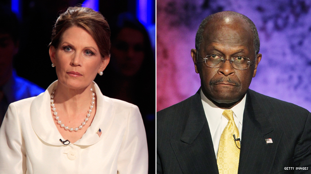 Bachmann implies Cain plan could be devil&#039;s work