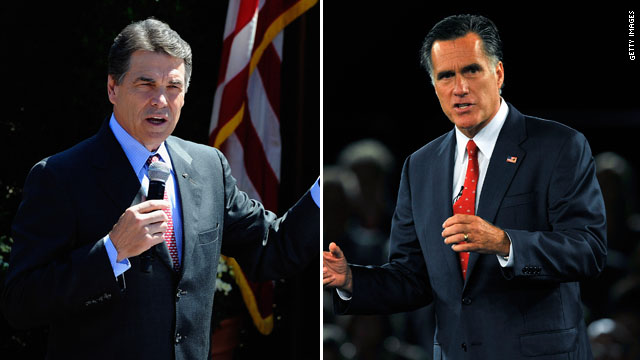 Romney criticizes Perry again over supporter's comments regarding Mormonism