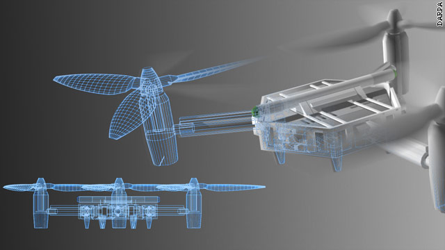 Military turns to home hobbyists for drone's future