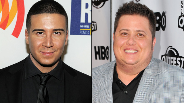 'Jersey Shore's' Vinny joins Chaz Bono for anti-bullying PSA