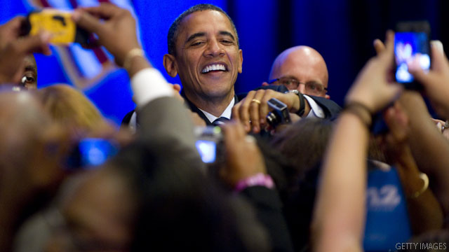 Obama re-election hits 1 million donors