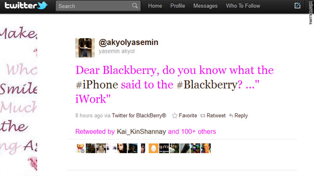 BlackBerry users irate about outage