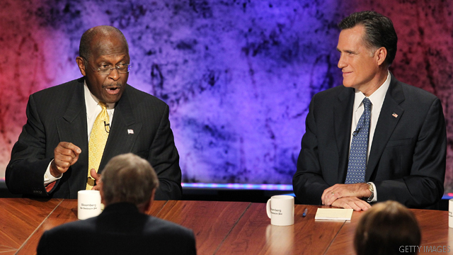 CNN Poll of Polls: Romney & Cain battle for top spot