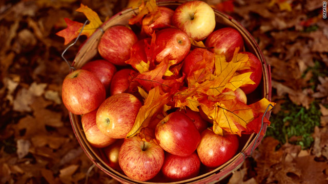 Breakfast buffet: National apple month