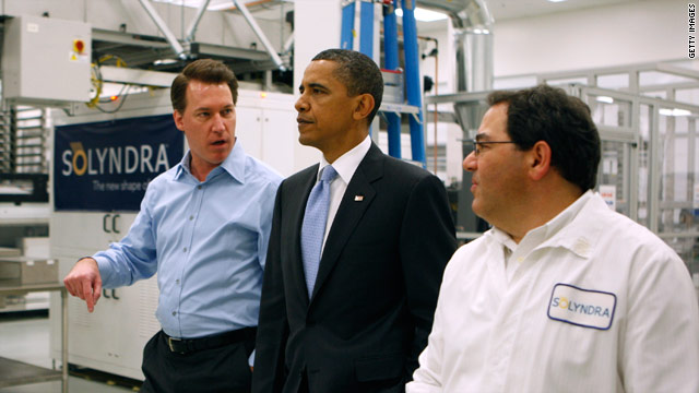 On Solyndra: President's Blackberry Off Limits