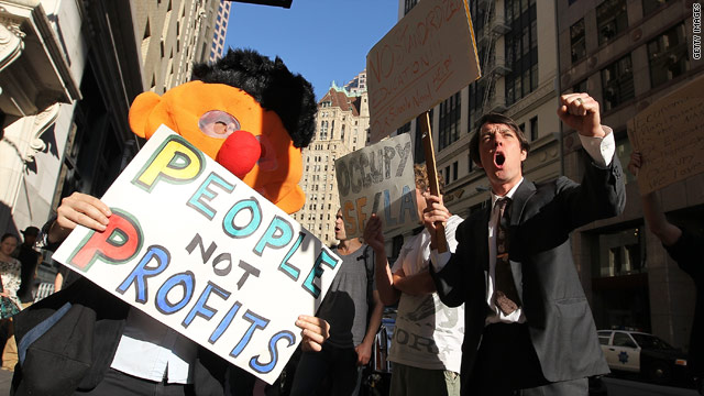 American Sauce: Senators scratch heads over Occupy Wall Street