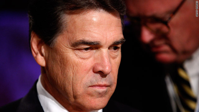 Perry: Campaigns harder on the family than the candidate