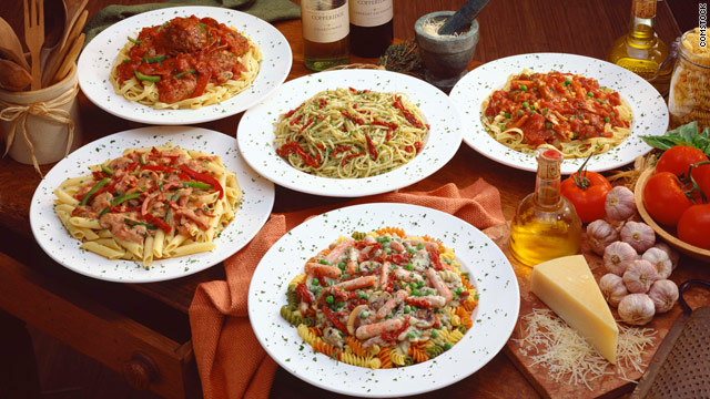 Breakfast buffet: National pasta day