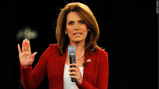 Bachmann raises almost $4 million, but spends nearly $6 million