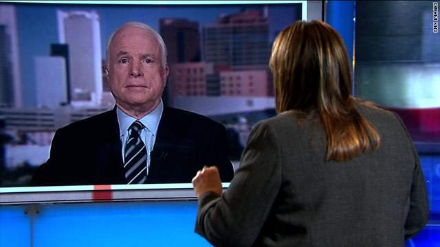 McCain on sending troops to Africa: Be careful