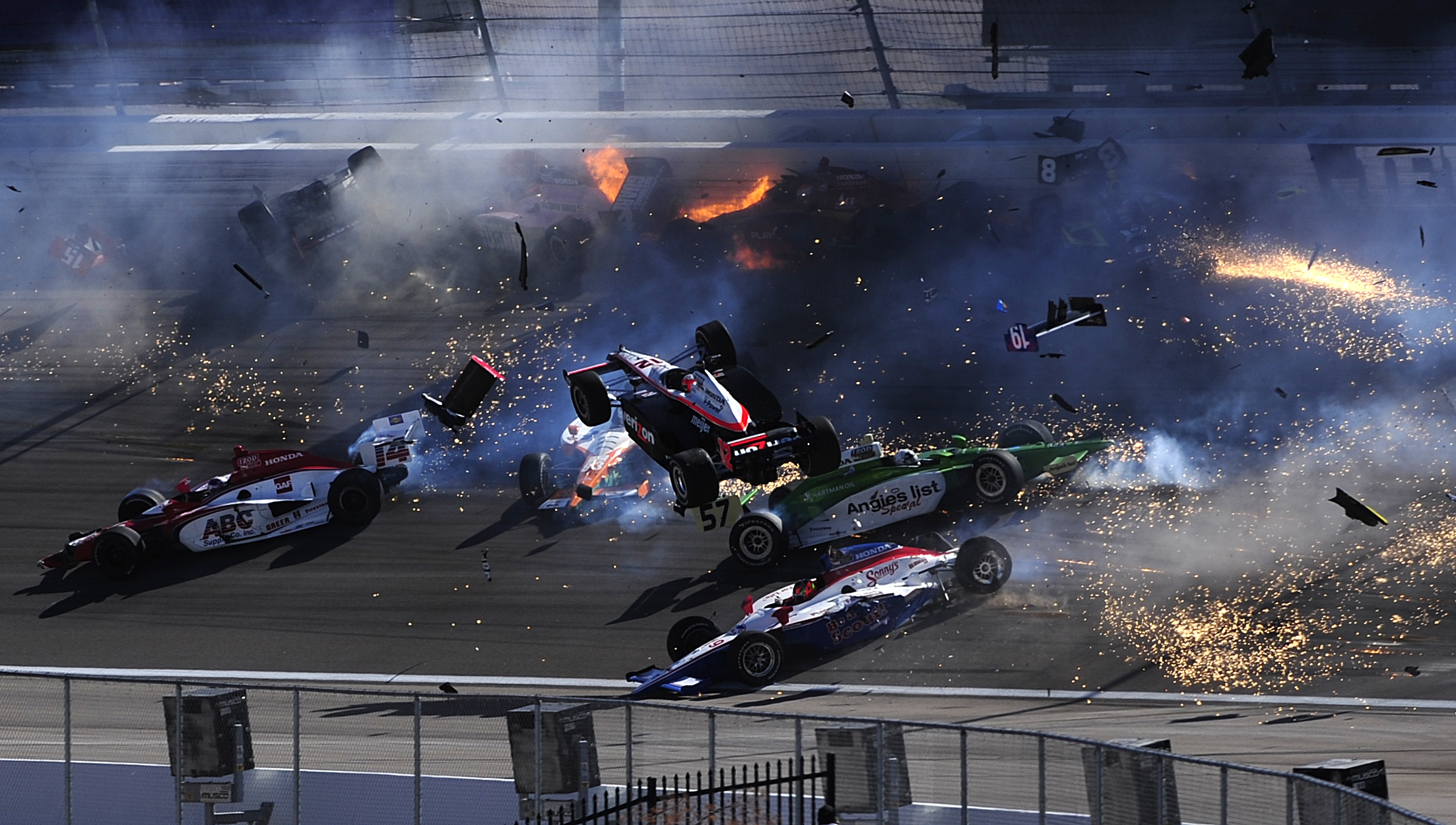 Need to Know News: Racing vet Dan Wheldon dies in crash at Vegas IndyCar race; Iran willing to look at Saudi plot evidence