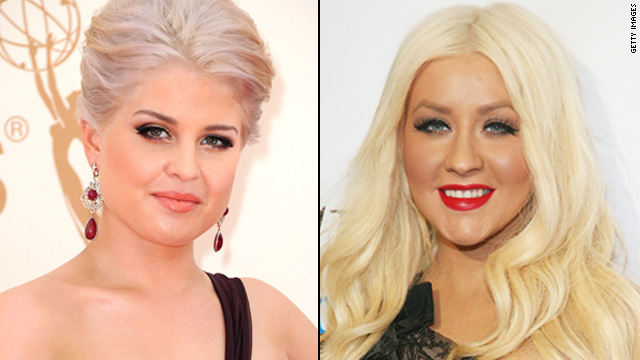 Kelly Osbourne on Aguilera: 'I was never that fat'