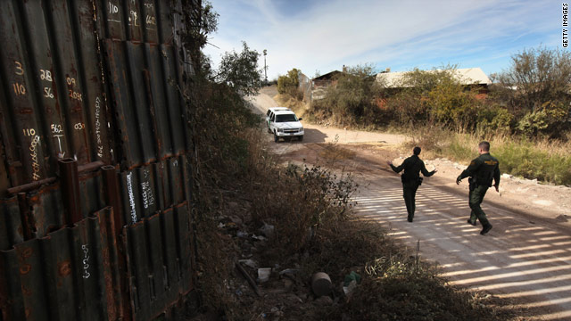 Immigration front and center as senators tour border