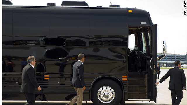 McCain to Obama: Your bus is ugly