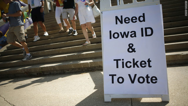 Iowa caucuses to be held January 3