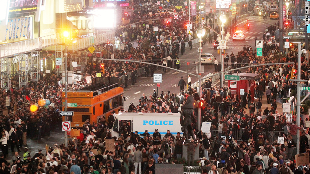 Where are the Occupy Wall Street protests destined to end?