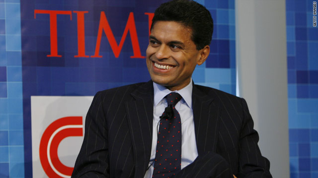 Fareed Zakaria named Harvard's 2012 Commencement speaker