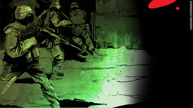 Osama bin Laden raid gets comic book treatment