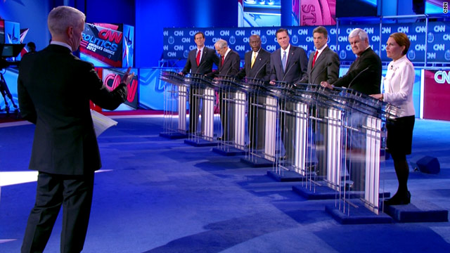 Live Blog: CNN Western Republican Presidential Debate