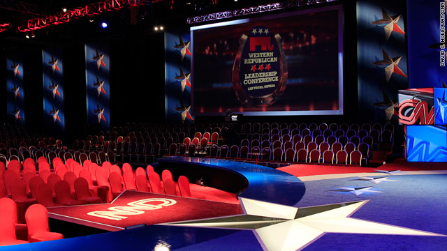 BLITZER'S BLOG: At tonight's debate, what happens in Vegas won't stay in Vegas