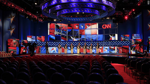 Obama campaign's debate word game, fundraiser
