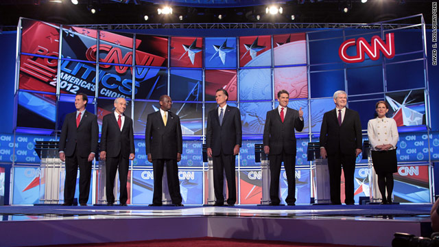 Candidates go all-in for Las Vegas debate