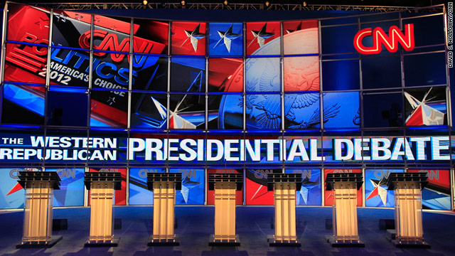 CNN GOP Debate in Las Vegas