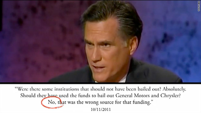 DNC mantra: Romney's a flip-flopper