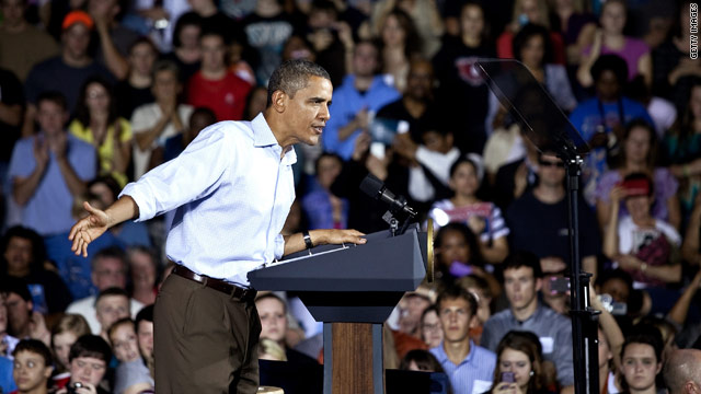 Obama to N.C.: Make Congress step up