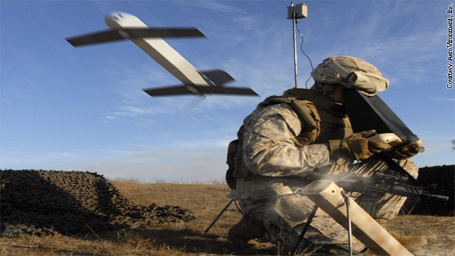 The drone with a death wish