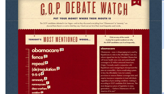 Obama campaign plays GOP debate fundraising game